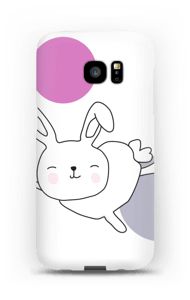 Astra the Space Bunny case Galaxy S7 Edge