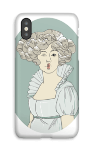 YOLO Vivianne  case IPhone X