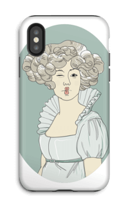 Lady Green Coque  IPhone X tough