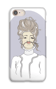 YOLO-Viktorianska Viola skal IPhone 8
