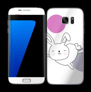 Ruimtekonijn Astra Skin Galaxy S7 Edge