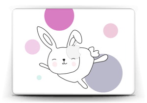 """Astra the Space Bunny Skin MacBook Air 13"""""""