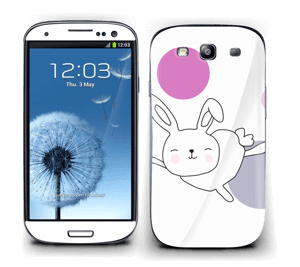 Astra the Space Bunny Skin Galaxy S3