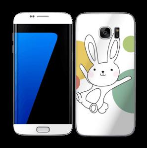Vega, het ruimtekonijn Skin Galaxy S7 Edge