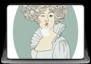 "Lady Green  Skin MacBook Pro Retina 13"" 2015"