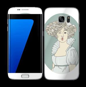 Victoriaanse Vivianne Skin Galaxy S7 Edge