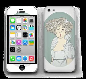 Lady Green  Skin IPhone 5c