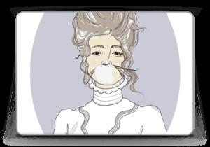 "Lady Violette Skin MacBook Pro Retina 13"" 2015"