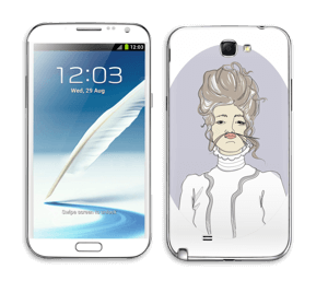 Viola tarrakuori Galaxy Note 2