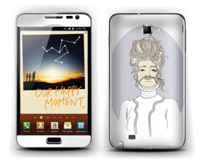 YOLO Viola Skin Galaxy Note