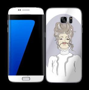 Victoriaanse Viola Skin Galaxy S7 Edge