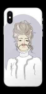 YOLO- Viktorianske Viola Skin IPhone X