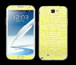 Jaune Colza Skin Galaxy Note 2