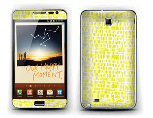 Colza Skin Galaxy Note