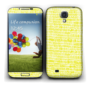 Jaune Colza Skin Galaxy S4