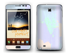 To the crazy ones! Skin Galaxy Note