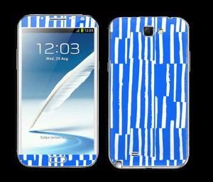 Bleu Plage Skin Galaxy Note 2