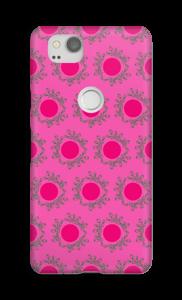 Sandy Pink deksel Pixel 2