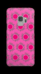 Sandiges Pink Handyhülle Galaxy S9