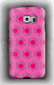 Sandy Pink kuoret Galaxy S6 Edge