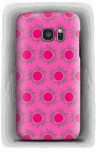 Sandiges Pink Handyhülle Galaxy S7