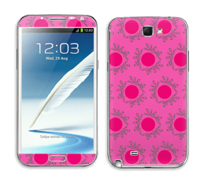 Sandy Pink tarrakuori Galaxy Note 2