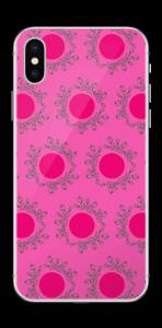 Rosa sabbioso Skin IPhone X