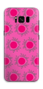 Pink Skin Galaxy S8