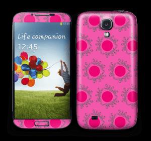 Sandy Pink  Skin Galaxy S4