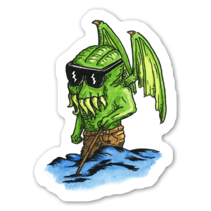 Blind Cthulhu sticker