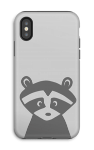 Raccoon Friend case IPhone X tough