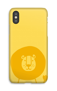 Amico leone cover IPhone X