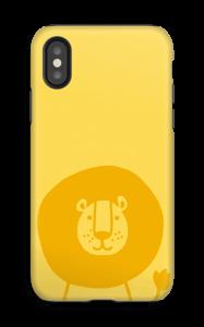 Leijonakamu kuoret IPhone X tough