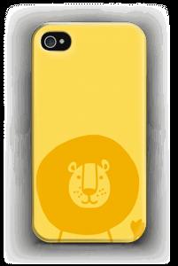 Leijonakamu kuoret IPhone 4/4s