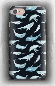 Sinivalaat kuoret IPhone 7