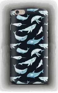 Sinivalaat kuoret IPhone 6 Plus