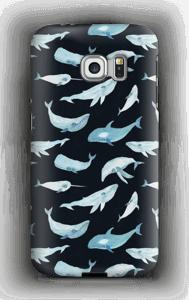 Hvaler deksel Galaxy S6 Edge
