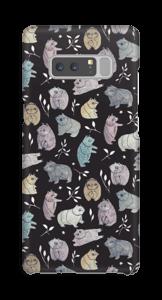 Björnar på brunt skal Galaxy Note8