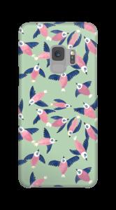 Rosa fugler deksel Galaxy S9