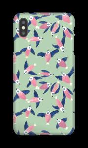 Pájaros Rosas funda IPhone XS Max