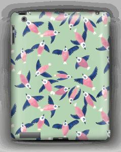 Pink birds case IPad 4/3/2