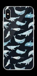 Ballenas vinilo  IPhone X