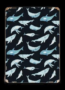 Whales in dark Skin IPad Pro 12.9