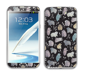Nallekarhut tarrakuori Galaxy Note 2