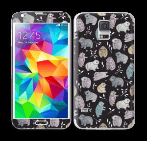 Small bears Skin Galaxy S5