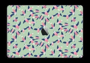 "Pajaros rosa Vinilo  MacBook Pro 13"" 2016-"