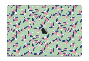 """Lyserøde fugle Skin MacBook Pro 15"""" 2016-"""