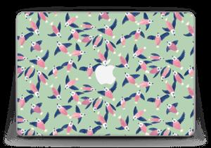 "Rosa Vögel Skin MacBook Pro Retina 13"" 2015"