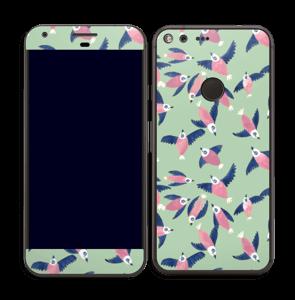 Pinky Birdies Skin Pixel XL