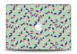 """Birds in pink Skin MacBook Pro Retina 15"""" 2015"""